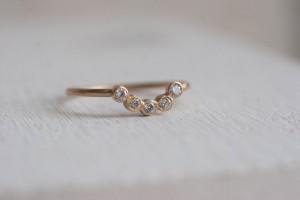 Diamond Curve Band